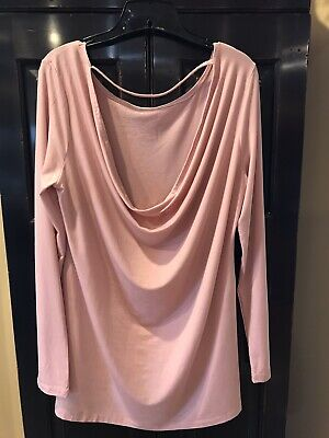 Fabletics long sleeve yoga high low tunic with matching sports bra, XL, NWOT