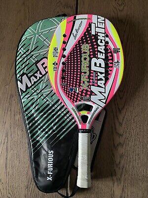 Racchetta Beach Tennis - Max Beach Tennis X-FURIOUS USATO PARI AL NUOVO