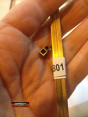 """M00801 MOREZMORE 2 Brass Square Tube Telescopic 1/8"""" 5/32"""" K&S #8151 #8152 A60"""