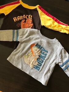 Long sleeve 3-6 months shirts (boy)