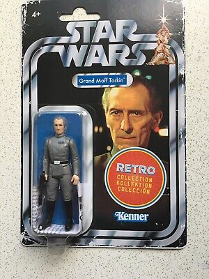 Grand Moff Tarkin Figure - Hasbro Star Wars: The Retro Collection - Kenner