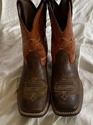 ARIAT WESTERN  BOOTS FOR GIRLS OR BOYS-YOUTH SIZE 2
