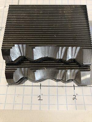 1 34 Carbide Crown Moulding Knives-weinigschmidt Corrugated Knives Moulder.