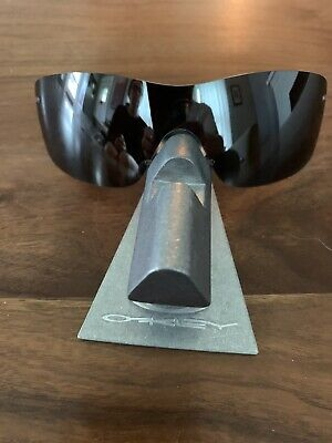 Oakley Nanowire 3.0 Blk Polarized Lens New