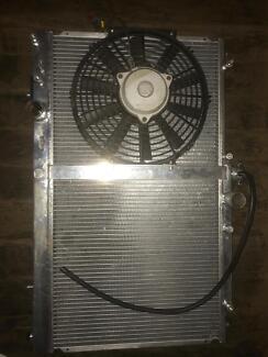 evo 9 radiator