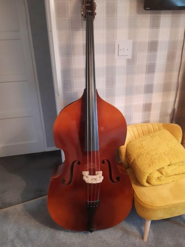 B/H 400 3/4  Double Bass made in Czechoslovakia.