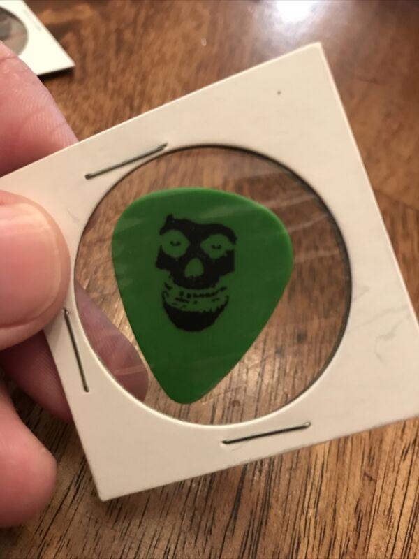 Misfits Black Flag Dez Cadena Green Double Sided Guitar Pick Very Rare Free S&H