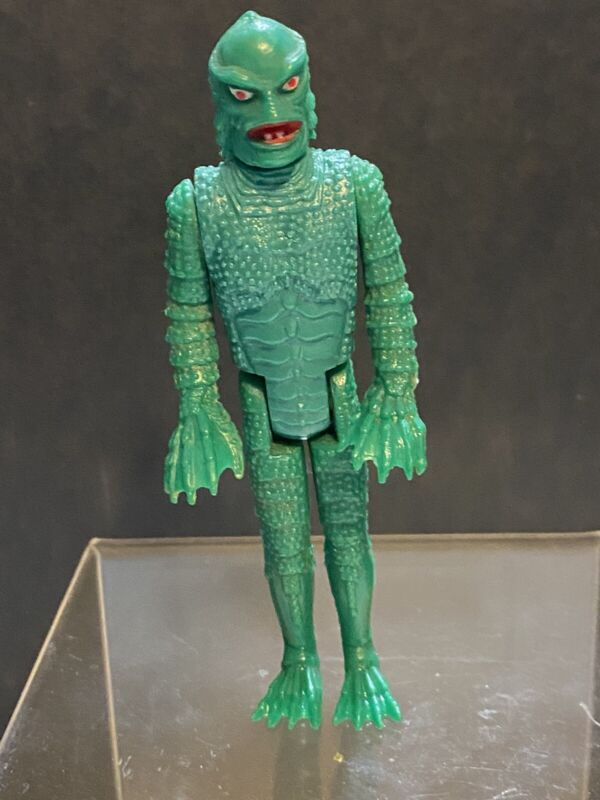 """Vintage 1980 Remco Universal Monsters """" Creature From The Black Lagoon """" Figure"""