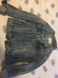 Jean Jacket -large $15