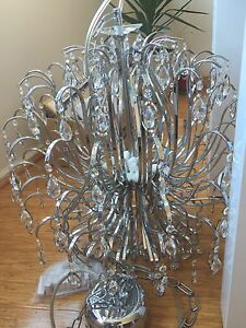 Modern Crystal Chandelier Clear 16 bulbs NX 8331-8+8 Enmore Marrickville Area Preview