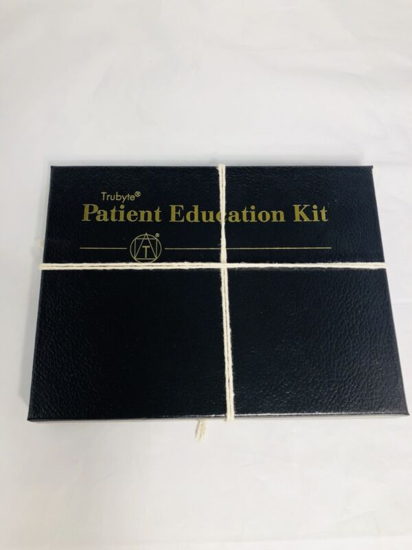Dentsply Trubyte Education Kit With Sample Teeth Cards IPN vs. Classic