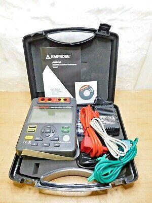 Amprobe Industrial High Voltage Insulation Resistance Tester 5000v Amb-50