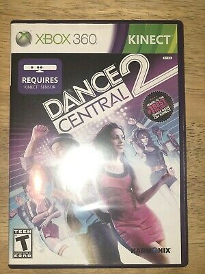 Dance Central 2 XBOX 360 Kinect pre-owned , used for sale  Shipping to Nigeria