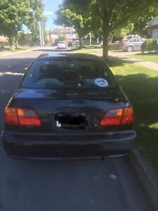 Honda Civic 2000 ex black