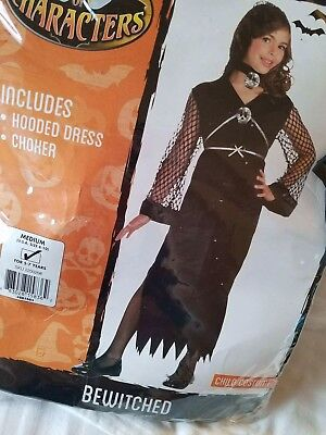 10 Year Old Costumes (Bewitched Girls Costume. Medium (U.S.A size 8-10) 5-7 years)