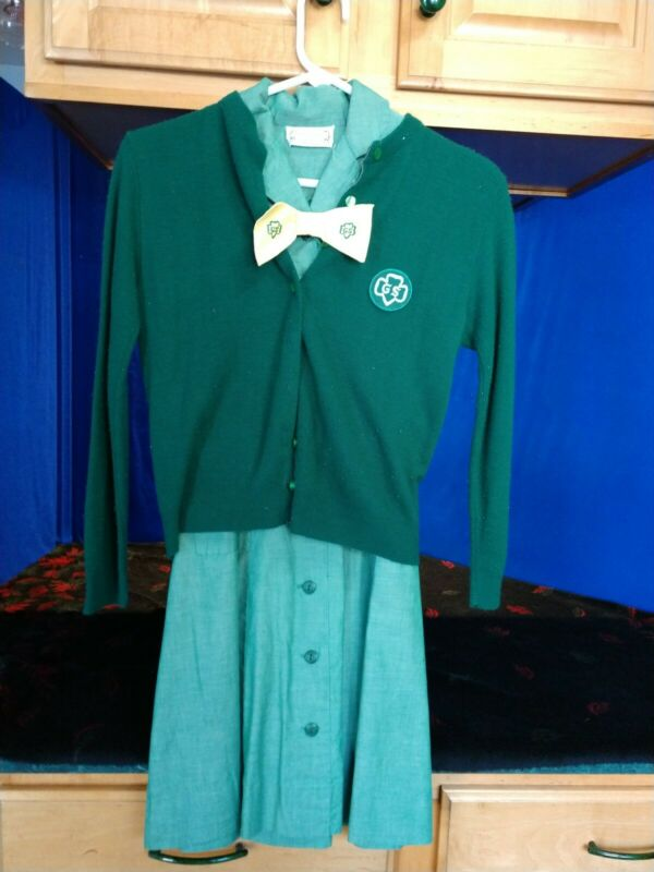 Girl Scout Uniform, Sweater Belt