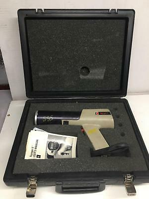 Raytek Raynger Ii Infrared Thermometer R2lt 8-14 Microns With Case And Manual