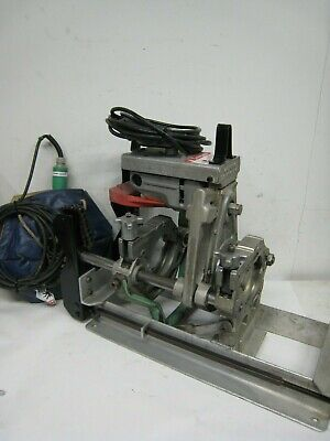 Mcelroy 4 Pipe Fusion Machine Includes Facer And Heating Iron