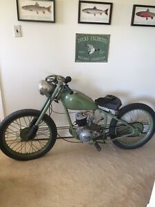 1950 Birmingham Small Arms Di Model motorcycle