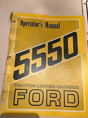 Ford 755 Tractorloaderbackhoe Operators Manual With Supplement