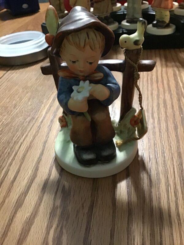 """Hummel """"She Loves Me, She Loves Me Not!"""" Figurine"""
