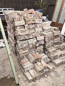 500 reclaimed solid bricks North Sydney North Sydney Area Preview
