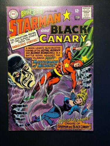BRAVE AND THE BOLD #61 F/VF (7.0) HIGH GRADE ORIGIN OF BLACK CANARY & STARMAN 