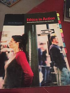 Ethics in Action text book