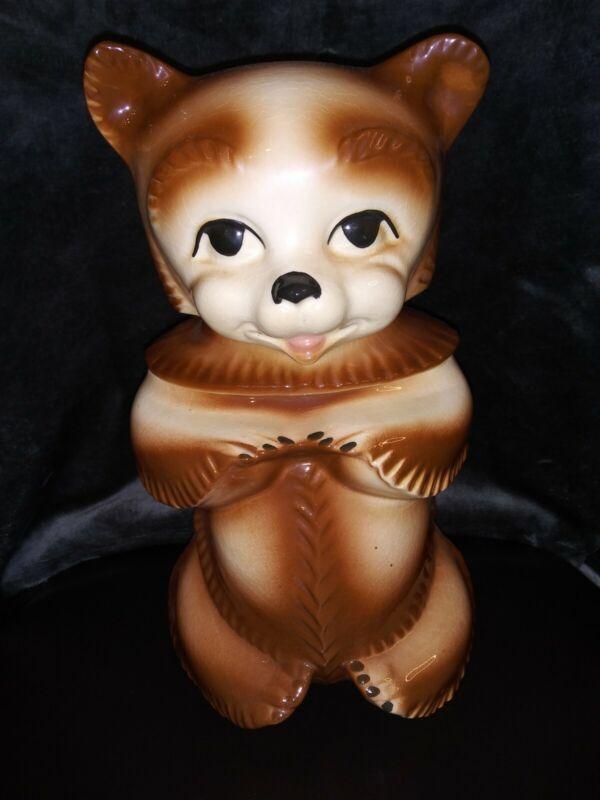 Vintage Bear Cookie Jar