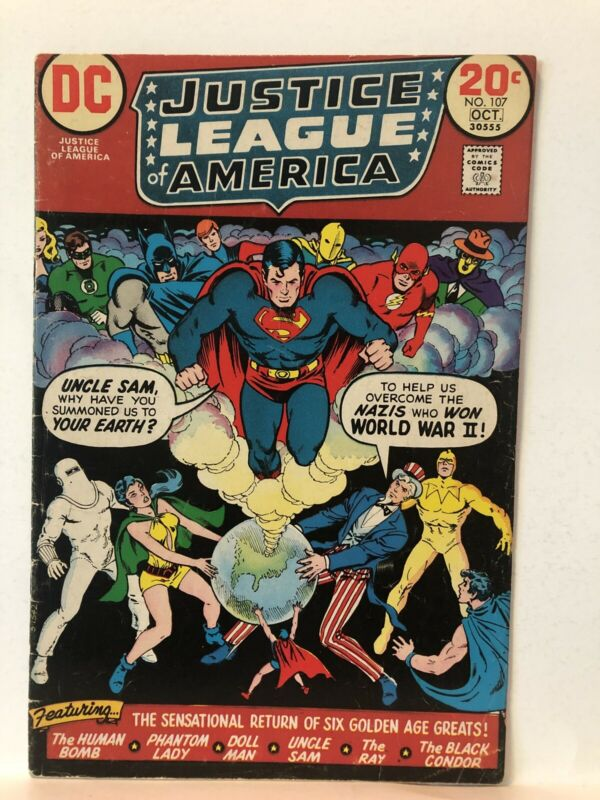 Justice League of America #107
