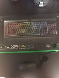 Gaming keyboard and gaming mouse!