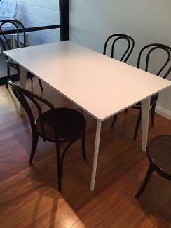 Fantastic Furniture Harper 6 Seater Dining Table In White