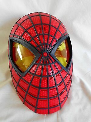 Harry Potter Halloween Sayings (The Amazing SPIDERMAN Talking Face Mask SAYS 10 PHRASES 2012 Marvel Comics)