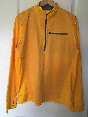 REI Men's Half Zip Light Weight Pullover Polyester  Sz L Half Zip Lightweight Pullover