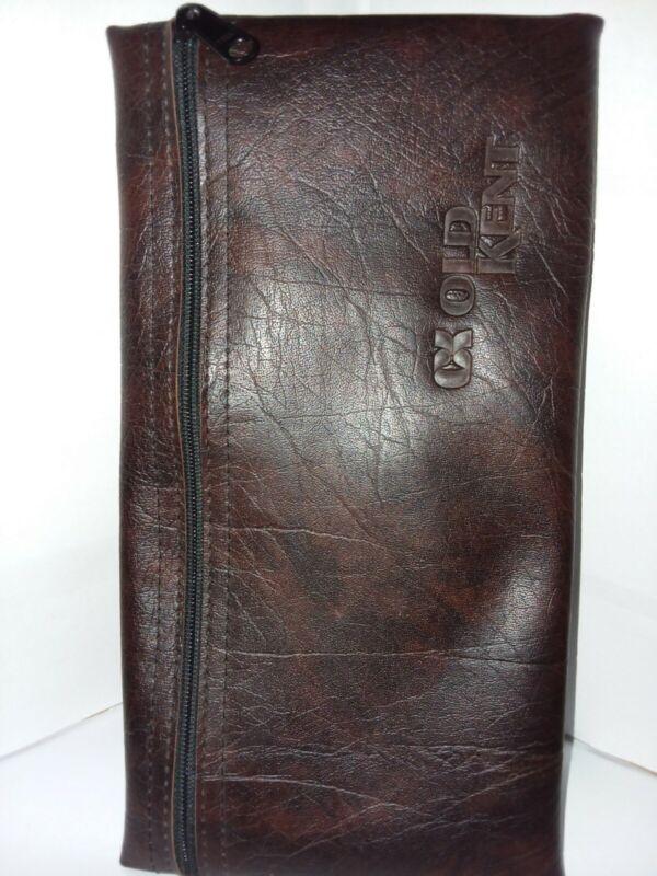 Vintage Old Kent Money Bank Deposit Bag Zippered Vinyl Pouch Holder