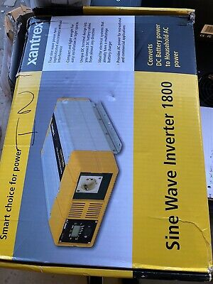 XANTREX True Sine Wave Inverter 1800W Watts 24VDC 230 VAC  1800/24 24V for sale  Shipping to Nigeria
