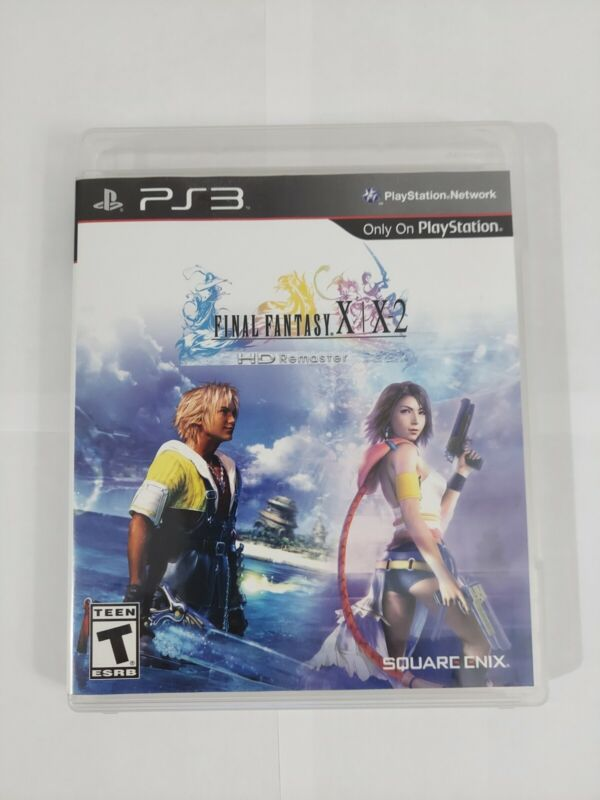 Final Fantasy X/X2 HD Remaster PS3  Complete  / Tested