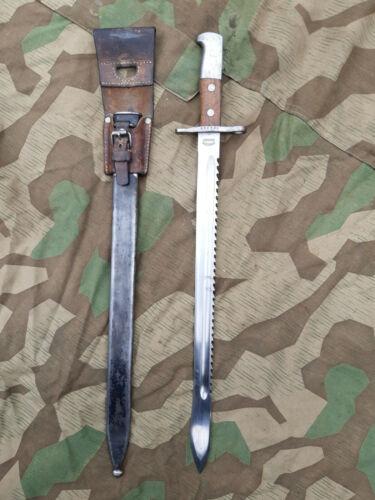Switzerland saw Schweiz NEUHAUSEN Bajonett M1914 Waffenfabrik Schwyz Sägerücken