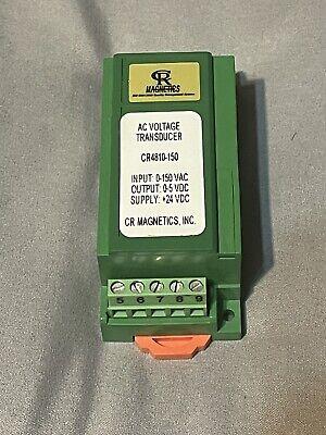 Cr Magnetics Cr4810-150 Ac Voltage Transducer Free Usa Shipping