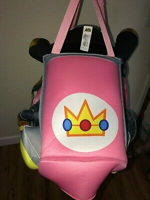 MARIOKART girls PINK RACE CAR HALLOWEEN COSTUME NEW NWOT ONE SIZE CHILD CUTE! - Mariokart Costumes