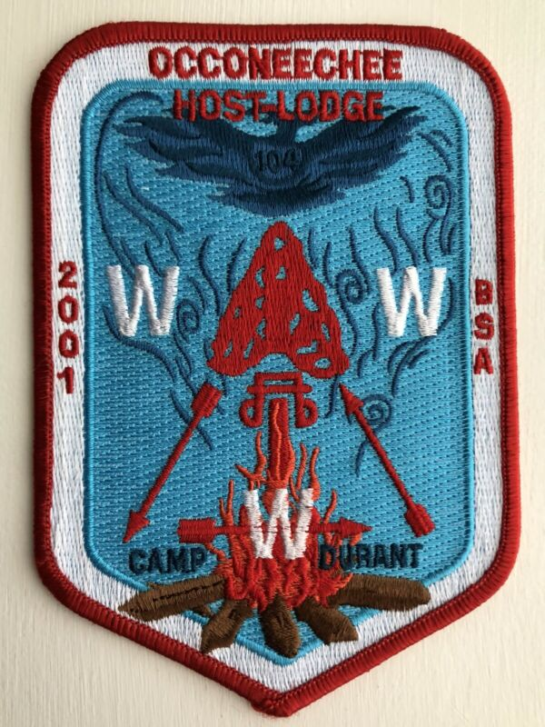 OA (BSA) 2001 SR 7B Section Conclave - Occoneechee Host Lodge Patch