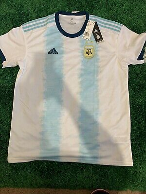 NWT Authentic Argentina Jersey 2019 Home XL Shirt Adidas Football Soccer DN6716 image