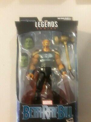 "Marvel Legends AVENGERS Thor BETA RAY BILL 6"" BAF SMART HULK heads"