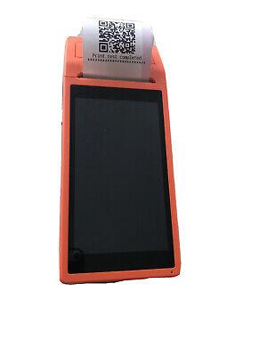 Handheld Android Pos Terminal Bt Receipt Printer 5.5 Inch Touchscreen Wifi M4n4