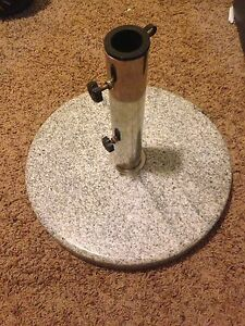 Granite Patio Umbrella Base