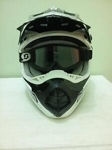 $60 negotionable motorbike helmet and goggles. Well looked after Copeland Gloucester Area Preview