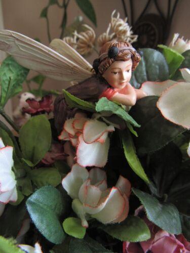 Cicely Mary Barker ELDERBERRY Flower Fairy Ornament Figurine RETIRED!  #87041