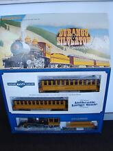 BACHMAN LARGE SCALE DURANGO & SILVERTON PASSENGER MODEL TRAIN SET Brisbane City Brisbane North West Preview