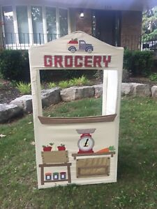 Pottery Barn Grocery Stand