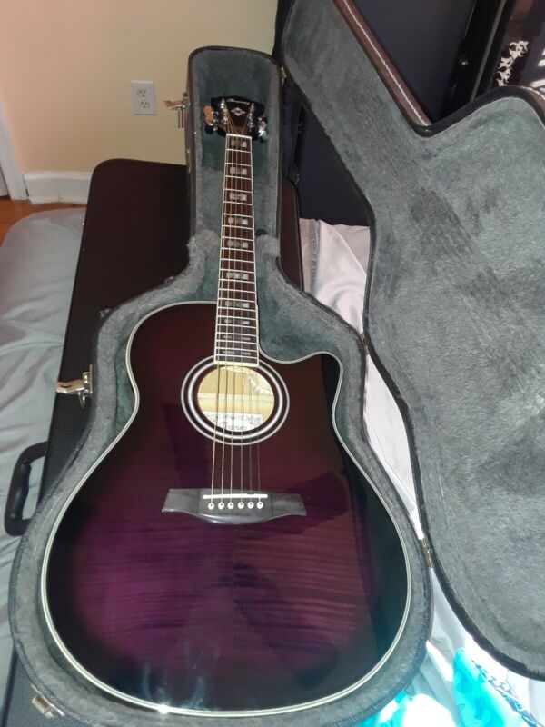 Ibanez AEF30E - TVS Acoustic/Electric Guitar w/Hard TKL Case